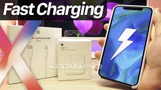 iPhone X Fast Charging