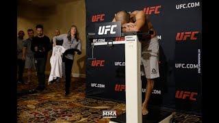 UFC 218 Weigh-Ins: Jose Aldo Has Close Call - MMA Fighting