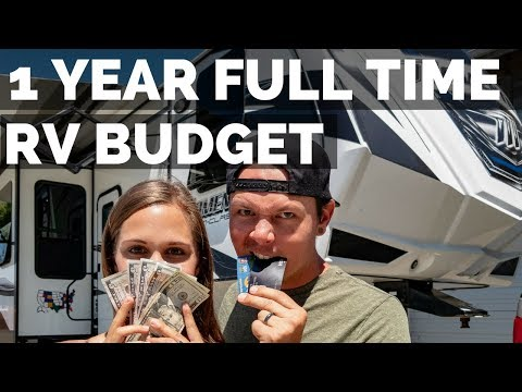 1 Year Costs of RV Living Full Time 💰 Expenses Budget & Planning How To RV