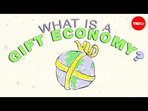 What is a gift economy Alex Gendler