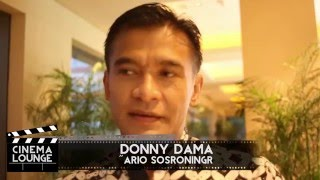 CINEMA LOUNGE interviewed DONNY DAMARA for SURAT CINTA UNTUK KARTINI