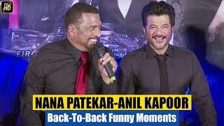 Anil Kapoor, Nana Patekar & John Abraham FUNNY Comedy At Welcome Back Trailer Launch