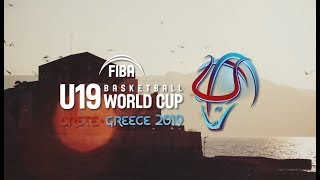 The FIBA U19 Basketball World Cup 2019 is coming to Heraklion (Greece)!