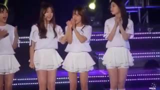 [FANCAM] Sohye, Yoojung, Chaeyeon cute moments at KNN National Festival