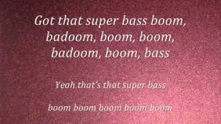 Nicki Minaj-Super Bass(lyrics) 2011(NEW)