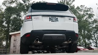 SOUND: 2016 Range Rover Supercharged Dynamic /Exhaust /Start Up