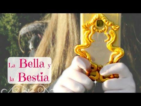 4 DIY Disney Bella Y Bestia | Disney Beauty and the Beast | 🌹  English subtitles