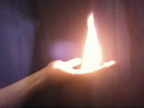 Как сделать огонь руке