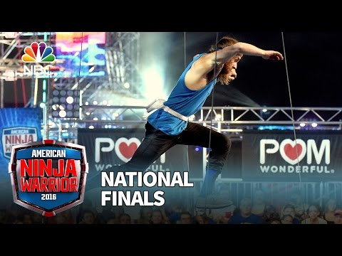 Jake Murray at the National Finals Stage 1 American Ninja Warrior 2016
