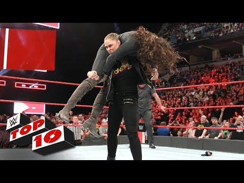 Xxx Mp4 Top 10 Raw Moments WWE Top 10 March 6 2018 3gp Sex