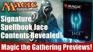 MTG Signature Spellbook Jace Contents Revealed