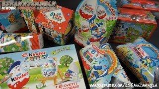 50 x Kinder Surprise Egg (Easter Special) [Extrem Rare Packs] Kinder Überraschung - Oster Edition