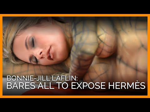 Naked Bonnie-Jill Laflin Exposes the Cruelty of Hermès