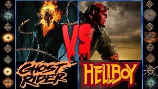 Ghost Rider (Marvel Comics) vs Hellboy (Dark Horse Comics) - Ultimate Mugen Fight 2016