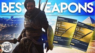 Assassin's Creed Origins   PHYLAKE BOSS WEAPONS SHOWCASE - Legendary Weapons From Phylakes