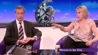 Obnoxious Feminist Slanders Nigel Farage As A Sexist