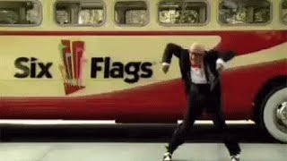 Original Six Flags Mr. Six It's Playtime TV Commercial 2004