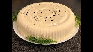 طريقة عمل الجبنة السورية في المنزل بكل سهوله.Syrian Cheese