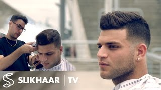 Men's fade hairstyle | How to fade with a clipper | Real soccer player haircut for Men