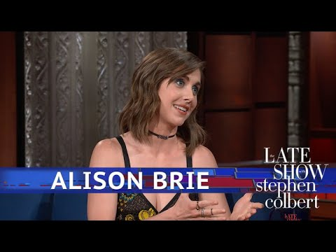 Alison Brie Knows Who Has Seth Rogen's Phone