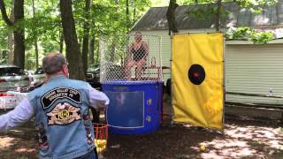 Ride for the Heroes dunk tank 2