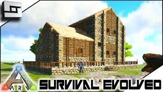 ARK: Survival Evolved - NEW BASE HOUSE PLACE!! E11 ( Ark Ragnarok Map )