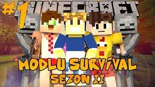 Minecraft Modlu Survival Sezon 2 - Uzaylılar - Bölüm 1