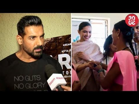 John Refuses To Promote 'Parmanu' On Bigg Boss 11 | Deepika Padukone Visits A Health Care Centre