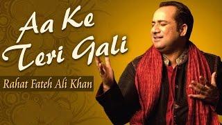 Aa Ke Teri Gali - Rahat Fateh Ali Khan | Best Qawwali Songs | Pakistani Songs | Musical Maestros