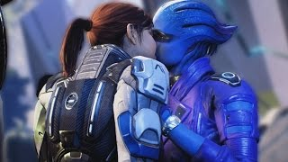 Mass Effect Andromeda All Cutscenes Movie (Main Missions/Allies and Relationships)
