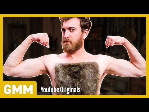 Reverse Chest Wax FLIP IT CHALLENGE