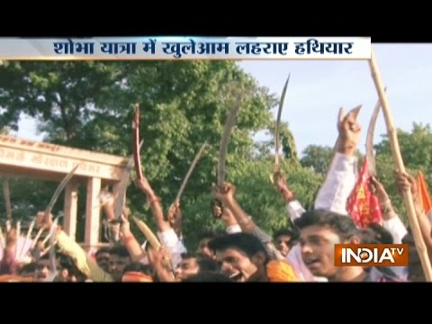 Xxx Mp4 VHP And Bajrang Dal Workers Organise Shobha Yatra Without Police Permission In Nagpur 3gp Sex