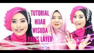 Tutorial Hijab Wisuda (Graduation) 2016 Paris / Segiempat Layer - Alyn Devian #AD2