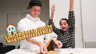 Gingerbread House Making Challenge 🏠 (WK 362) | Bratayley