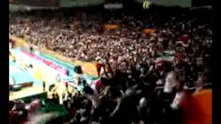 Iran-China volleyball, women onlookers
