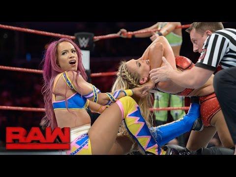 Xxx Mp4 Sasha Banks Bayley Vs Charlotte Dana Brooke Raw Sept 19 2016 3gp Sex