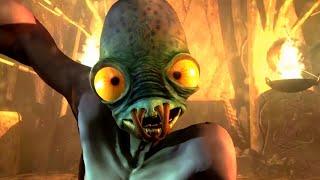 Oddworld New 'n' Tasty - All CutScenes + Good Ending & Credits