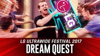 WIN A $10,000 GAMING SETUP - LG Ultrawide Festival 2017 Dream Quest Announcement