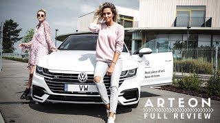 Volkswagen Arteon 2017 Full Review // First Look & Test Drive
