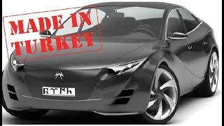 🔴 Das türkische Automobil: Design-Konzept
