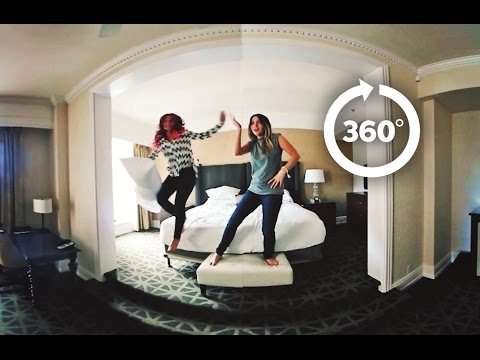 BORED in a HOTEL WHAT to DO in 360 VIDEO
