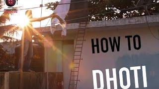 How to Dhoti | Paracetamol Paniyaram | Happy Dhoti Day