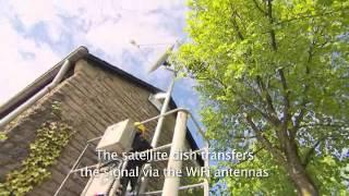 SES Broadband for Communities: Installation in Newel
