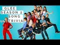 Glee Season 2 - Song Trivia