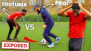 Can a Average Human Beat a Professional at Football?