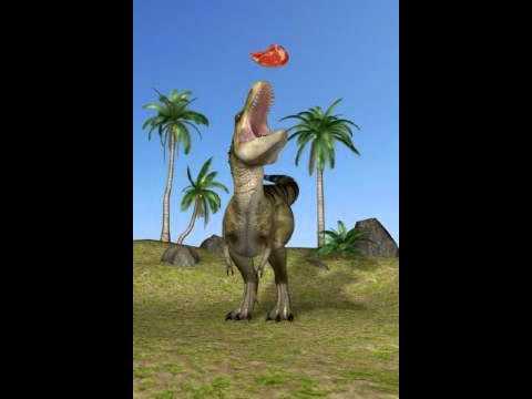 Talking Rex the Dinosaur having sex