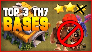 Clash of Clans   TOP 3 TH7 War Base 2017   CoC BEST Town Hall 7 Defense [TH7 2017]