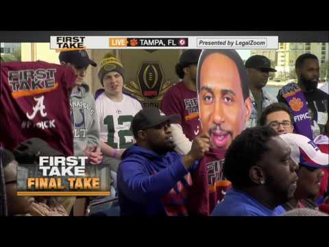 Stephen A. is all in on the Tide