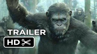 Dawn Of The Planet Of The Apes Official Trailer #1 (2014) - Gary Oldman Movie HD