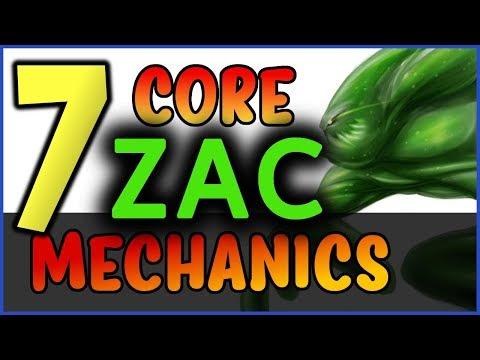 Xxx Mp4 7 PRO Zac Tips 7 Core Zac Mechanics YOU SHOULD KNOW League Of Legends 3gp Sex